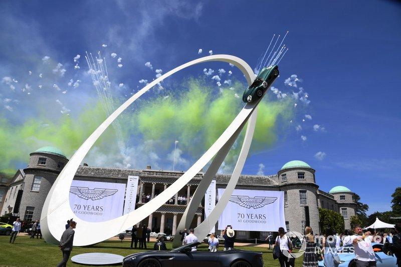 Aston Martin Celebración