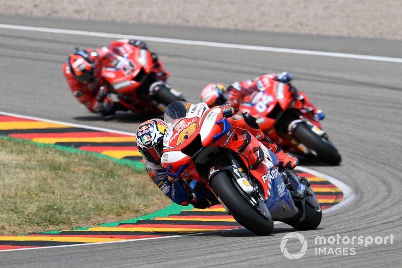 Jack Miller, Pramac Racing, Andrea Dovizioso, Ducati Team, Danilo Petrucci, Ducati Team