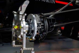 Red Bull Racing RB15, dettaglio del freno anteriore