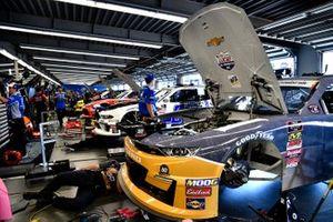 Una vista general del garaje Xfinity