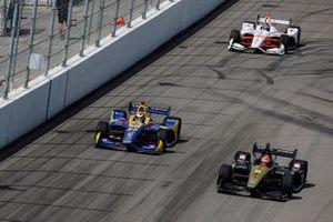 James Hinchcliffe, Arrow Schmidt Peterson Motorsports Honda, Alexander Rossi, Andretti Autosport Honda