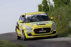 Simone Goldoni e Flavio Garella, Suzuki Swift 1.0 Boosterjet R1, Nordovest Racing