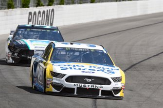 Michael McDowell, Front Row Motorsports, Ford Mustang Long John Silver's, Matt Tifft, Front Row Motorsports, Ford Mustang Surface Sunscreen