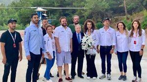 Jean Todt, FIA President, Eren Üçlertoprağı, TOSFED president, Serkan yazıcı and other FIA and TOSFED officials