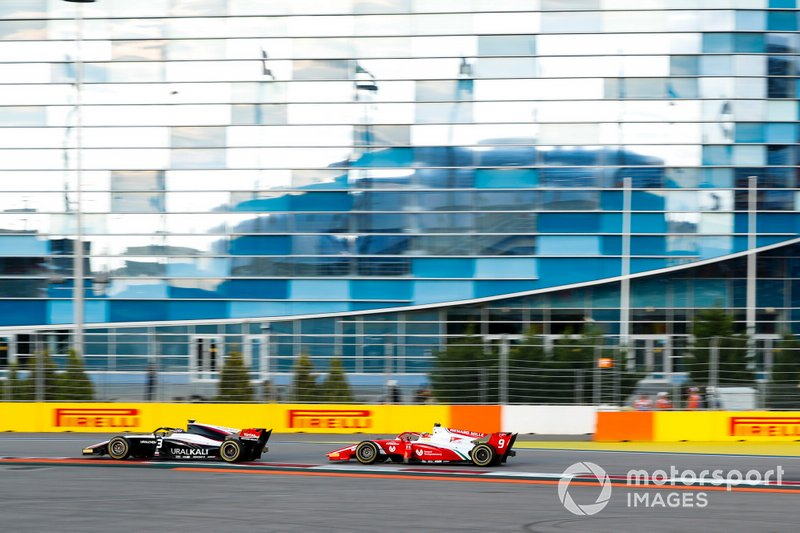 Nikita Mazepin, ART Grand Prix and Mick Schumacher, Prema Racing