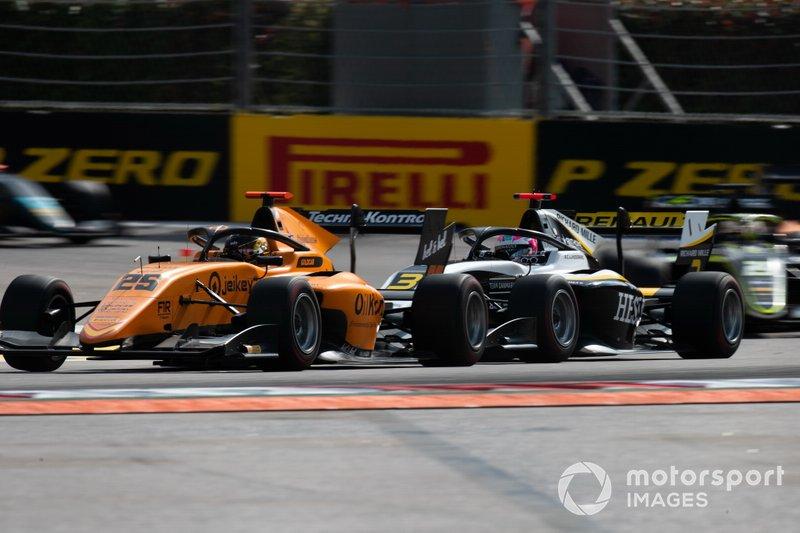 Christian Lundgaard, ART Grand Prix e Sebastian Fernandez, Campos Racing