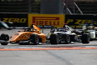 Christian Lundgaard, ART Grand Prix and Sebastian Fernandez, Campos Racing
