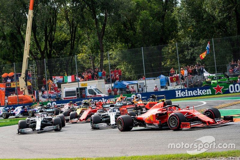 Italian GP: Charles Leclerc, Ferrari