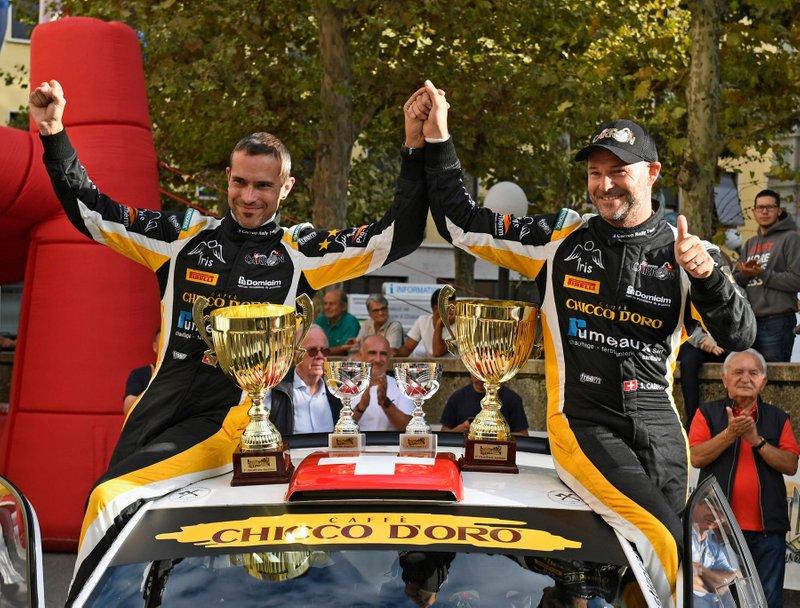 Sebastien Carron, Lucien Revaz, Volkswagen Golf R5, D-Max Swiss