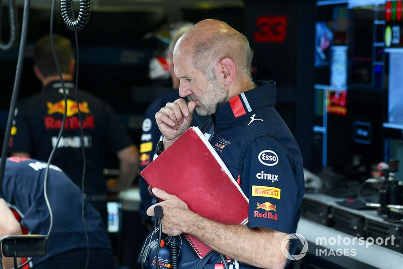 Adrian Newey, directeur technique Red Bull Racing