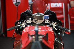 Vue détaillée de la Ducati