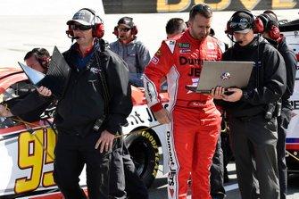 Matt DiBenedetto, Leavine Family Racing, Toyota Camry Dumont Jets and Michael Wheeler