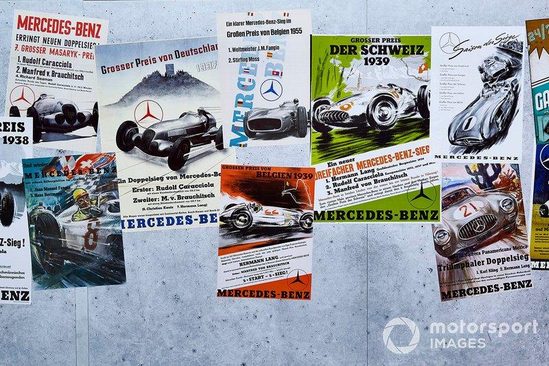 Des posters pour fêter les 125 ans de Mercedes en sport automobile
