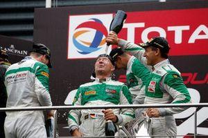 Podio: #33 Rinaldi Racing Ferrari 488 GT3: Hendrik Still, Christian Hook, Manuel Lauck, Alexander Mattschull