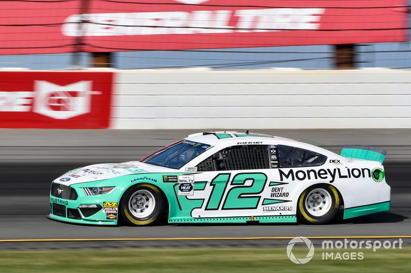 Ryan Blaney, Team Penske, Ford Mustang MoneyLion