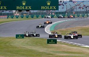 Max Fewtrell, ART Grand Prix, Richard Verschoor, MP Motorsport, Yuki Tsunoda, Jenzer Motorsport