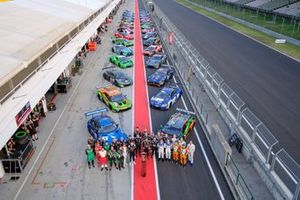 Group shot with all cars