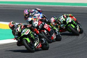 Jonathan Rea, Kawasaki Racing Team, Toprak Razgatlioglu, Turkish Puccetti Racing, Leon Haslam, Kawasaki Racing Team