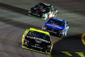 Ryan Blaney, Team Penske, Ford Mustang Menards/Richmond, Ricky Stenhouse Jr., Roush Fenway Racing, Ford Mustang Fastenal