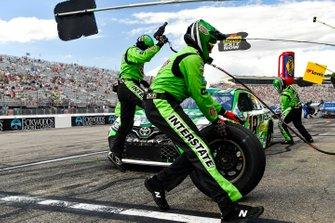 Kyle Busch, Joe Gibbs Racing, Toyota Camry M&M's Interstate Batteries