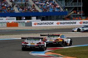 Timo Glock, BMW Team RMG, BMW M4 DTM, Sheldon van der Linde, BMW Team RBM, BMW M4 DTM