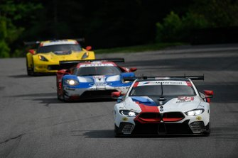 #25 BMW Team RLL BMW M8 GTE, GTLM: Tom Blomqvist, Connor De Phillippi, #66 Ford Chip Ganassi Racing Ford GT, GTLM: Joey Hand, Dirk Mueller, #3 Corvette Racing Corvette C7.R, GTLM: Jan Magnussen, Antonio Garcia