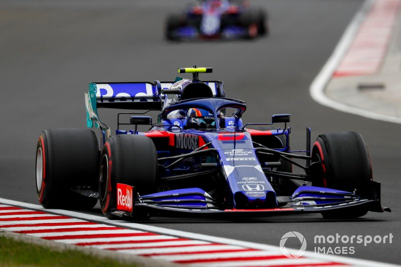 12: Alexander Albon, Toro Rosso, 1min16s687