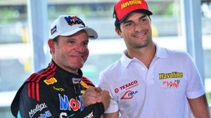 Rubens Barrichello and Nelson Piquet Jr., Full Time