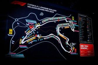 Mappa della Spa-Francorchamps