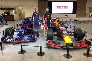 Red Bull Honda RB15 showcar & Toro Rosso Honda STR13