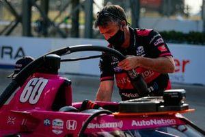Jack Harvey, miembros del equipo Meyer Shank Racing Honda