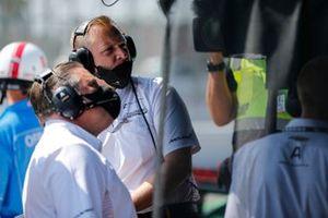 Patricio O'Ward, Arrow McLaren SP Chevrolet, Taylor Kiel and Zac Brown