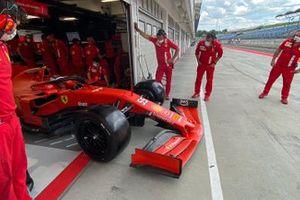 Carlos Sainz Jr., Ferrari with 2022 18-inch Pirelli Zero