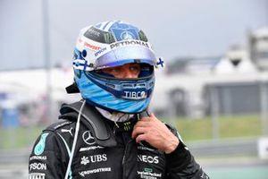 Valtteri Bottas, Mercedes, na een crash bij de start