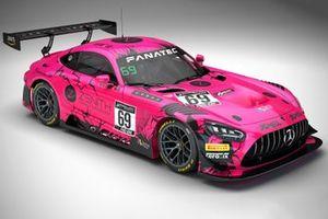 #69 Ram Racing Mercedes-AMG GT3: Ricky Collard, Robert Collard, Sam De Haan, Fabian Schiller