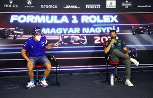 Fernando Alonso, Alpine F1, Sebastian Vettel, Aston Martin