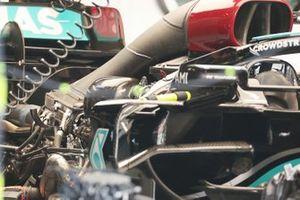 Mercedes W12 engine detail