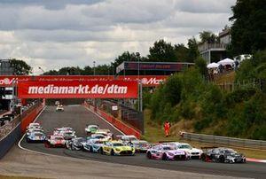 Start van de DTM-race: