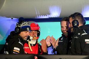 Carlos Sainz, Sainz XE Team, Greenland XE à son centre de commandes