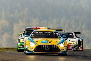 #6 Haupt Racing Team Mercedes-AMG GT3: Hubert Haupt, Manuel Metzger, Patrick Assenheimer