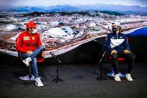 Carlos Sainz Jr., Ferrari en Pierre Gasly, AlphaTauri