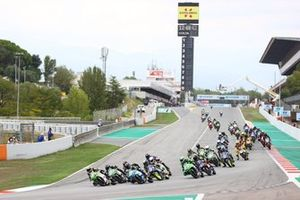 Adrian Huertas, MTM Kawasaki, Harry Khouri, Fusport - Rt Motorsports by SKM Kawasaki et Oliver Komig, Movisio by MIE