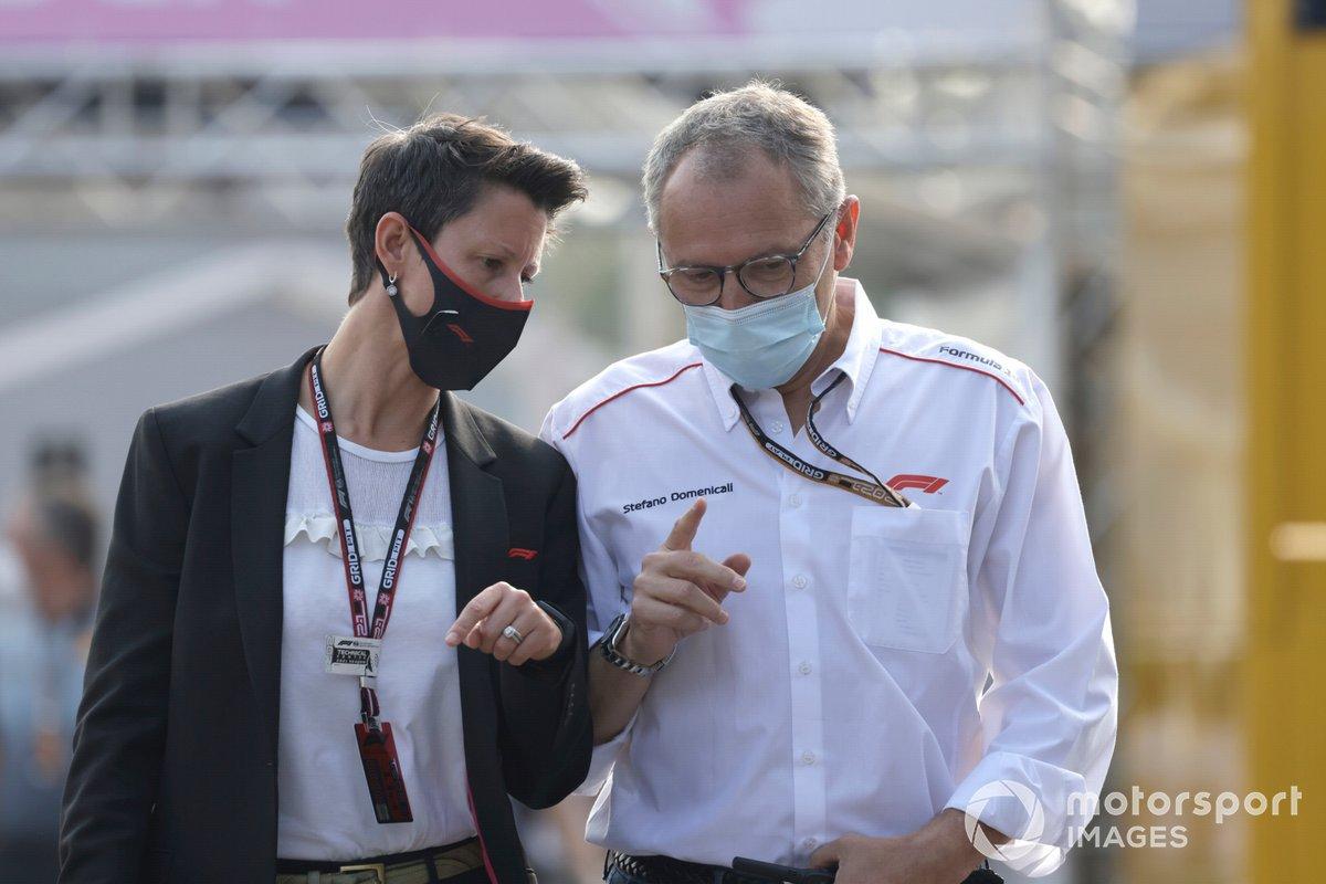 Stefano Domenicali, CEO de la Fórmula 1