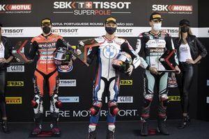 Scott Redding, Aruba.It Racing - Ducati, Michael van der Mark, BMW Motorrad WorldSBK Team and Loris Baz, Team GoEleven