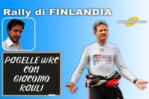 Pagelle WRC: Rally Finlandia