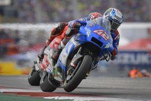 Alex Rins, Team Suzuki MotoGP, Francesco Bagnaia, Ducati Team