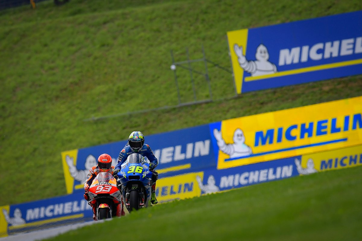 Joan Mir, Team Suzuki MotoGP, Marc Márquez, Repsol Honda Team
