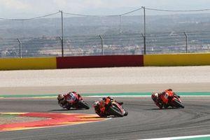 Brad Binder, Red Bull KTM Factory Racing, Iker Lecuona, KTM Tech 3, Jorge Martin, Pramac Racing