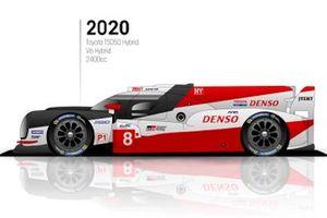 2020 Toyota TS050 Hybrid