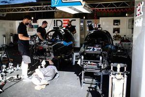 #17 IDEC Sport Oreca 07 - Gibson LMP2 de Dwight Merriman, Kyle Tilley, Ryan Dalziel